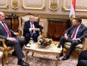 """صور.. """"أفريقية البرلمان"""" تستقبل مساعد وزير الخارجية لشئون السودان"""