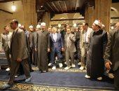 صور.. رئيس جمهورية تتارستان يزور الجامع الأزهر الشريف