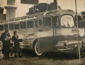 لو مهتم بالعربيات القديمة.. شاهد أقدم معرض سيارات بمصر سنة 1950