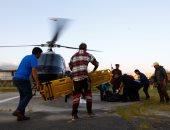 بالصور.. مروحية تنقل جثث 9 متسلقين لقوا مصرعهم فى عاصفة ثلجية بجبال الهمالايا