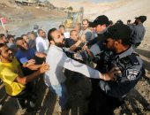 اشتباكات بين جنود الاحتلال وفلسطينيين فى قرية خان الأحمر