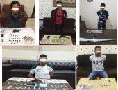 ضبط 5 عناصر إجرامية بحوزتهم أسلحة نارية بكفر الشيخ