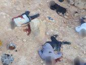 صور.. مقتل 9 عناصر إرهابية فى مداهمة أمنية لكهف بطريق أسيوط-سوهاج