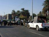 صور.. إصابة سائقين فى اصطدام سيارة نقل وجرار بمقطورة بطريق إسنا الشرقى