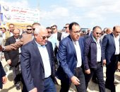 رئيس الوزراء يتفقد منطقة الأنفاق بشرق التفريعة