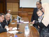 صور.. محافظ البحيرة يلتقى 27 مواطنًا خلال لقائه الدورى بالمواطنين