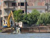 صور.. حملة مكبرة لإزالة الأقفاص السمكية والتعديات على نهر بالبحيرة