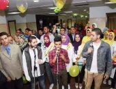 صور.. جامعة المنوفية تنظم حفلا لأطفال معهد الكبد القومى