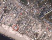 """""""قصر الرمال"""" الناجى الوحيد من إعصار مايكل بفلوريدا الأمريكية.. تعرف على السر"""