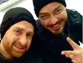 """دعواتكم.. أحمد زاهر ونضال الشافعى يواصلان تصوير فيلم """"زنزانة 7"""""""