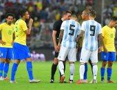 """سوبر كلاسيكو.. شوط سلبى مثير فى قمة الأرجنتين والبرازيل """"فيديو"""""""