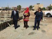 صور.. رئيس مدينة أبورديس يتفقد مشروعات الخطة الاستثمارية بجنوب سيناء
