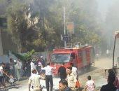 السيطرة على حريق بمطعم ومقهى بمركز الغنايم فى أسيوط