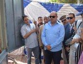 محافظ الغربية يتفقد التجهيزات بالساحة المحيطة بالمسجد الأحمدى