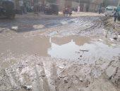 قارئ يشكو انتشار مياه الصرف الصحى بشارع نصر بمنطقة بشتيل