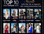 صور .. تعرف على المرشحات للفوز بلقب ملكات جمال الأرض وأفضل 10 أزياء وطنية