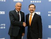 أبو الغيط وسكرتير عام منظمة الأمن والتعاون فى أوروبا يبحثان سبل التعاون
