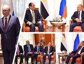 الرئيس السيسى يصل القاهرة قادما من موسكو