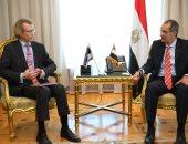 وزير الاتصالات يتفق مع سفير أستونيا على تفعيل مذكرة تفاهم حول بالأمن السيبرانى