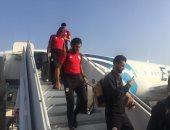 بعثة المنتخب تصل القاهرة بعد التأهل لكأس الأمم الأفريقية
