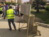 تحرير 309 مخالفات فى حملة لشرطة المرافق بالجيزة