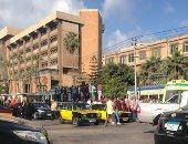 إصابة فتاتين فى حادث تصادم ترام بسيارة ملاكى فى الإسكندرية