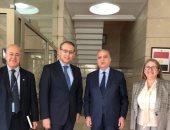 """سفير مصر ببيروت يبحث مع الأمين التنفيذى لـ""""الإسكوا"""" ملفات التعاون الفنى"""