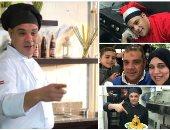 عمدة الغلابة فى روما.. ميمو يقدم وجبات بأقل التكاليف للمصريين فى إيطاليا