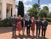 سفير مصر فى بريتوريا: شباب جنوب أفريقيا يُشاركون بمنتدى شباب العالم