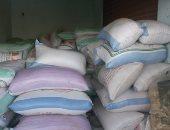 تحرير 175 قضية و4687,628 طن أرز شعير لبيعها فى السوق السوداء
