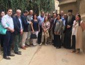 """صور.. وزير الآثار وسفراء 15 دولة فى جولة بـ""""ملتقى الأديان"""" بسانت كاترين"""