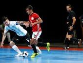 صور.. منتخب شباب الصالات يهزم الأرجنتين 5 / 4 ويتوج بالميدالية البرونزية بالأولمبياد