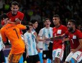 """اهداف مباراة مصر والارجنتين والتتويج بـ""""برونزية الأولمبياد"""""""