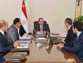 السيسي يجتمع مع رئيس الوزراء ووزير الاتصالات لمتابعة تنفيذ استراتيجية الوزارة