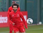 محمد صلاح يظهر فى تدريبات ليفربول بعد تعافيه من الإصابة.. صور