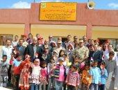 القوات المسلحة تفتتح أربعة مدارس بشمال ووسط سيناء بالتعاون مع المجتمع المدنى