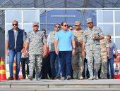 بسام راضى: الرئيس السيسى تفقد إحدى القواعد الجوية ومشروع مستقبل مصر