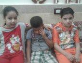 3 أطفال أشقاء يعانون من مرض السكر.. ووالدهم يناشد وزارة الصحة بتوفير العلاج