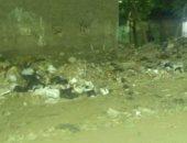 قارئ يشكو انتشار القمامة بشارع البسطة بمنطقة بشتيل