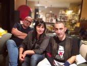 اللبنانية دارين حمزة تجتمع بزياد الرحبانى بسبب أغنية وفيلم