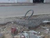 قارئ يطالب بتركيب عامود كهرباء أمام مدرسة ابتدائية بالسويس