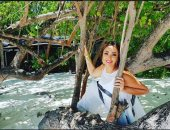 سبقتها ياسمين.. داليا البحيرى تستمتع بآخر أيام الصيفية بجلسة تصوير على البحر