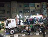 """على طريقة """"عايز حقى"""".. قارئ يشارك بصور لفرح داخل سيارة نقل بكفر الشيخ"""