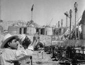 شاهد.. صور نادرة لبناء السد العالى عام 1960