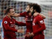 محمد صلاح يقود ليفربول للتفوق على هدرسفيلد 1 - 0 فى الشوط الأول.. فيديو
