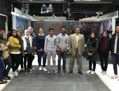 كلية إعلام جامعة النهضة تستضيف خبراء الإعلام للتدريب العملى لطلاب الكلية
