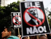 صور.. الآلاف فى البرازيل ينظمون احتجاجات رفضاً للمرشح اليمينى بولسونارو