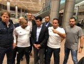 وزير الرياضة يستقبل أبطال مصر المشاركين بأولمبياد الأرجنتين فى مطار القاهرة