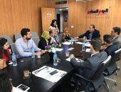 طلاب إعلام النهضة ينفذون زيارات ميدانية لليوم السابع وماسبيرو وراديو مصر