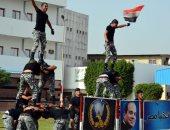 محافظ القليوبية ومدير الأمن يحضران ختام عرض تدريب قوات الأمن بالمحافظة